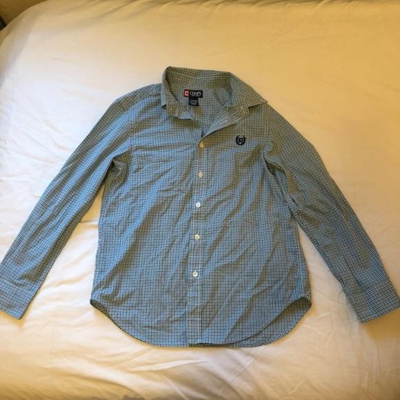 Chaps Other - Chaps plaid button down dress shirt